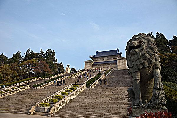 南京中山陵儿童画图片