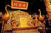 中国皇宫金銮殿皇帝的皇座龙椅图片