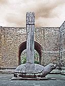 南京明孝陵中的石碑