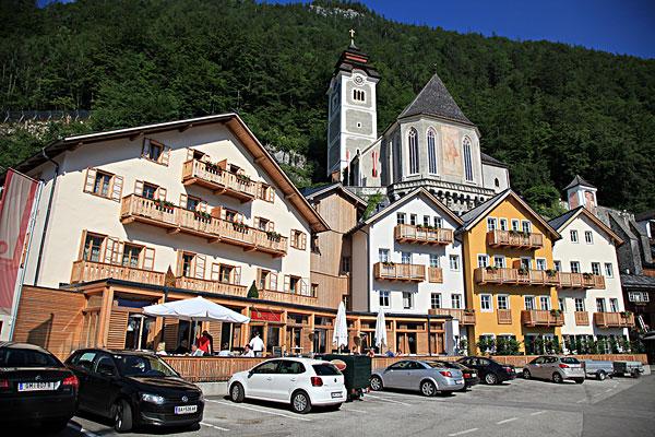 奥地利小镇风景