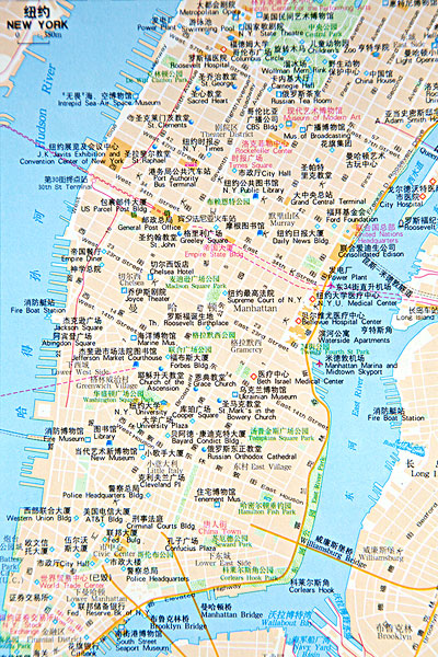 >纽约地图