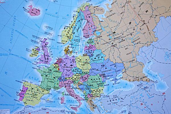 欧洲地图全图