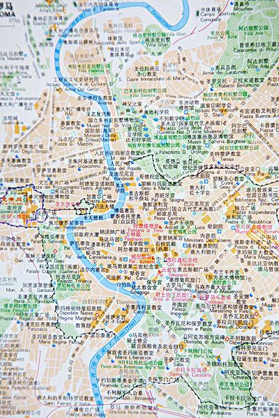 罗马地图全图