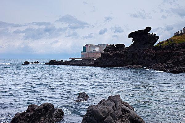 韩国济州岛龙头岩