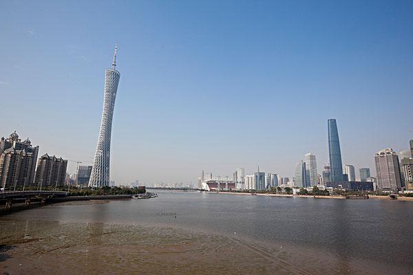 广州电视塔图片大全_全景图片