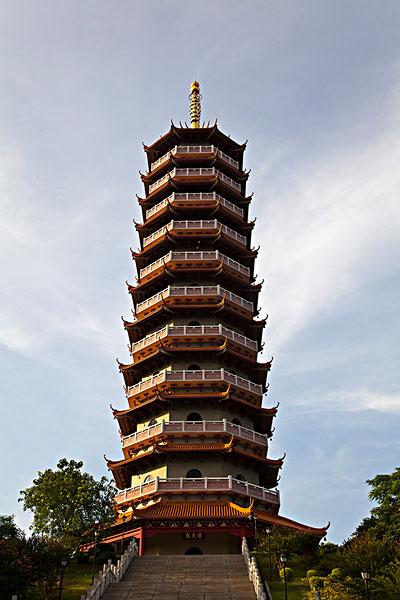 龙光塔,江门市区,塔式建筑图片