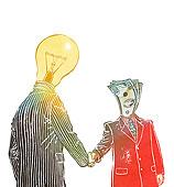 合作,概念,钱