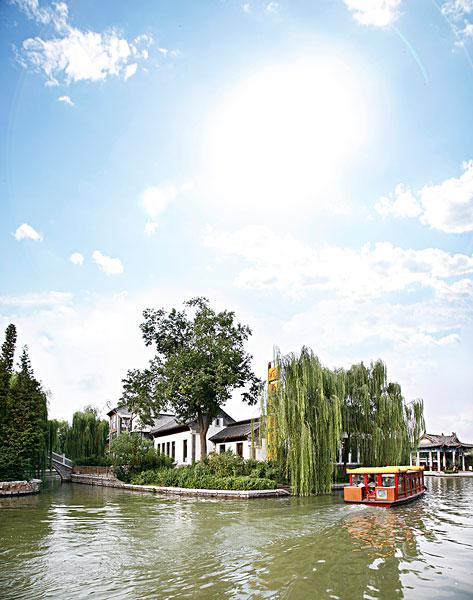 >济南大明湖