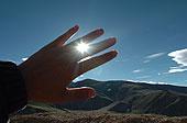 阳光透过指尖图片