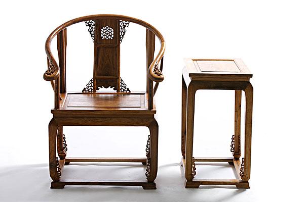中式椅子茶几_全景图片