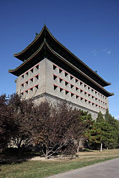 北京城墙紫檀木雕