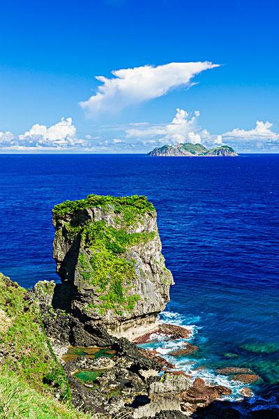 台湾-台东县兰屿乡海岸公路风景