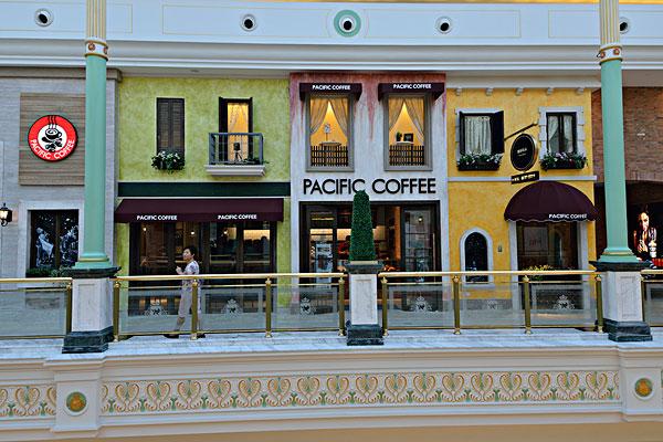 欧式咖啡厅_全景图片