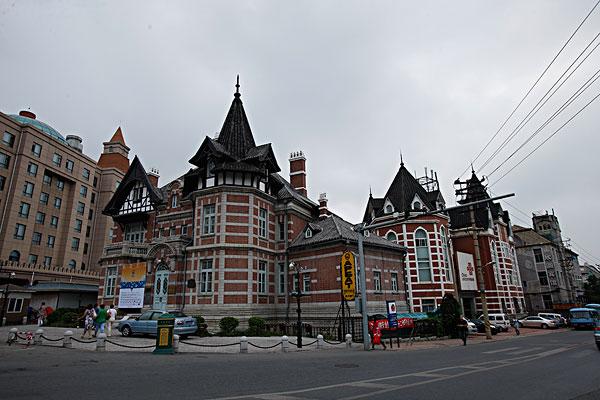 >欧式风情街