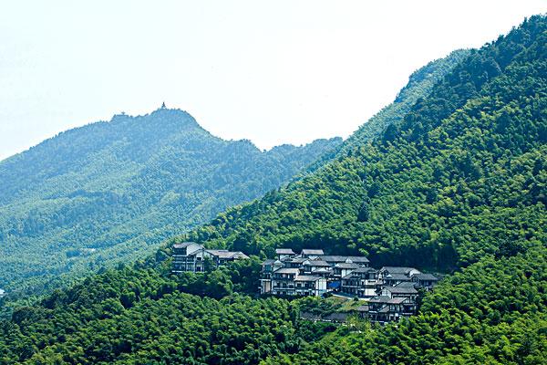 重庆市永川区茶山竹海风景区茶竹天街