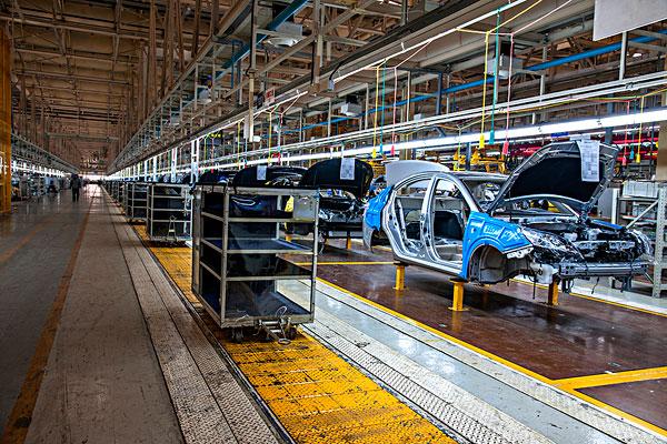 长安汽车北京分公司长安轿车装配生产线