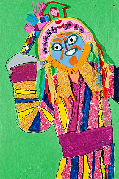 儿童画,抽象画