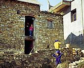 云南元阳村庄里的民居