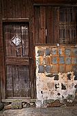 浙江寺平古镇,木门,老房子,旧建筑,农村,香村,小巷,门口,砖墙,木窗