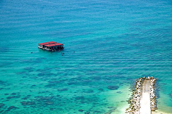 海南陵水分界洲岛潜水岛