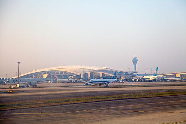白云机场图片大全