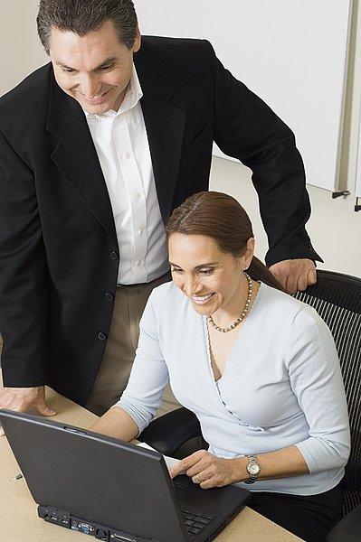 商务人士,工作,笔记本电脑