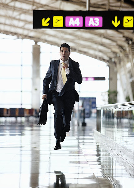 商务人士,匆忙,机场