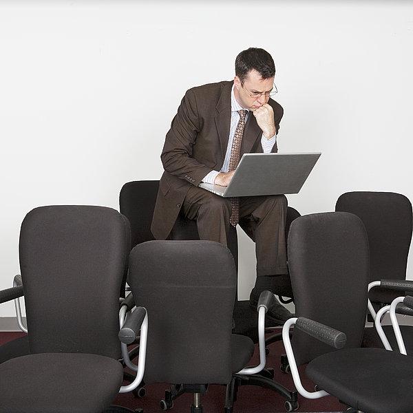 商务人士,笔记本电脑