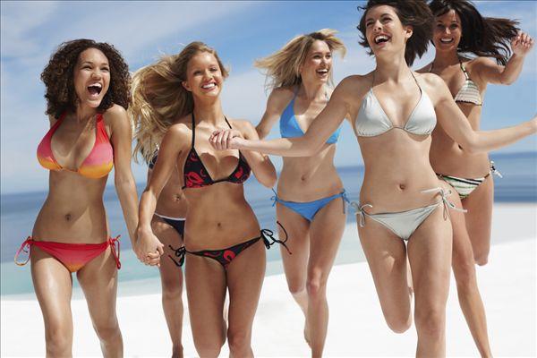 朋友女性朋友美女横图性感海滩