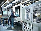 工程师,电脑,数字,控制,车床,工厂