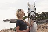 女人和马配对图片欣赏