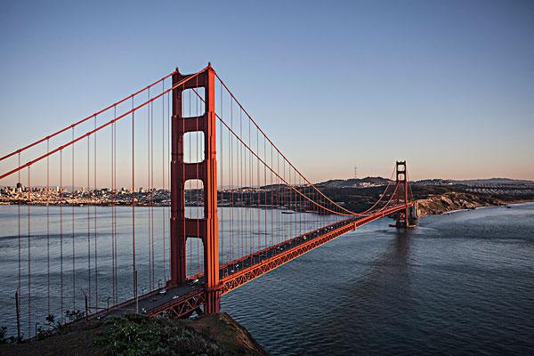 俯视图,旧金山,美国