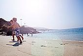 兄弟,玩,海滩,拉古纳海滩,加利福尼亚,美国