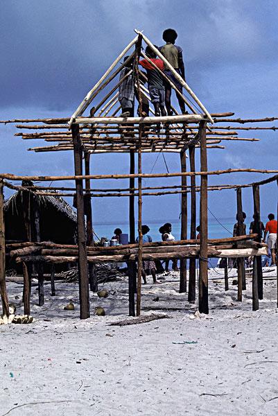 南太平洋,巴布亚新几内亚,特罗布里恩群岛
