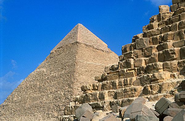 埃及金字塔_全景图片