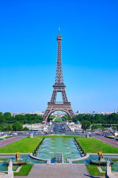 埃菲尔铁塔,巴黎,法国-全景图片-读图时代