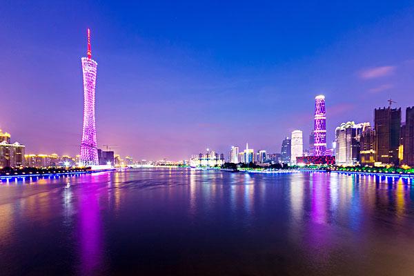 广东广州城市建筑