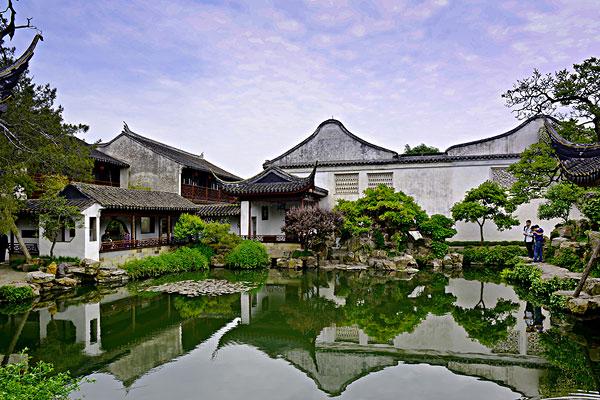 >苏州园林建筑