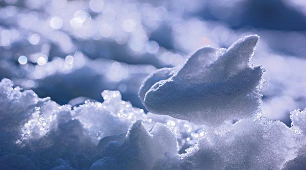 雪水粉畫黑板報
