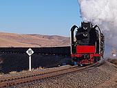 内蒙古集通铁路的蒸汽机车