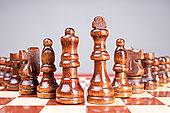 棚拍国际象棋