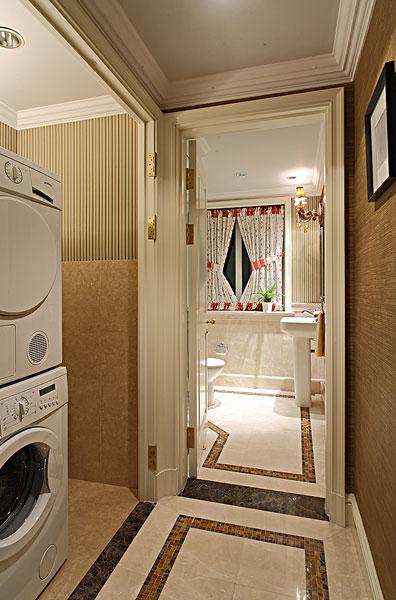 小户型欧式洗手间装修图片