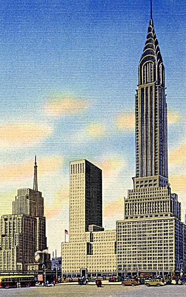 图片标题:克莱斯勒大厦,东方,纽约,美国