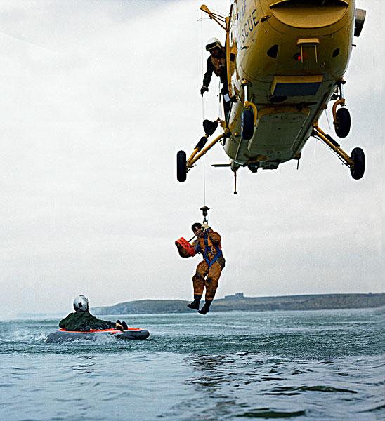 直升飞机,制作,救助