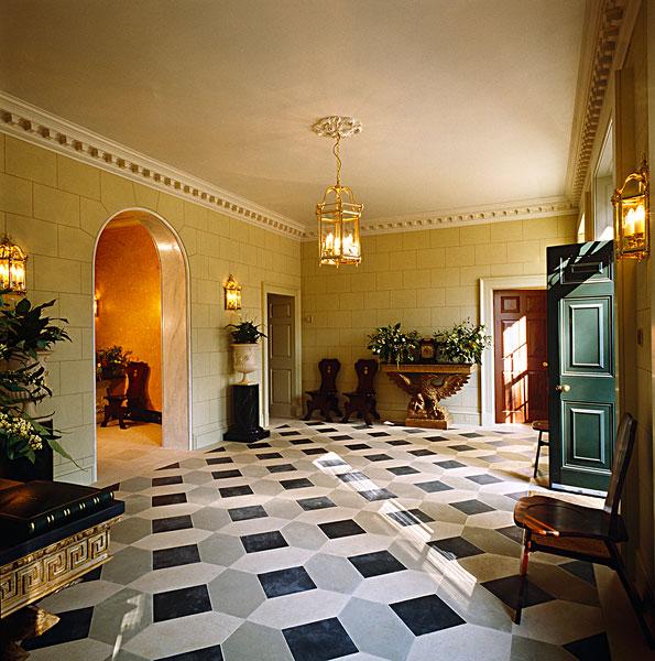 享 标题: 地砖 标签: 壮观,门廊,爱奥尼克柱式,别墅,几何,地砖,墙壁