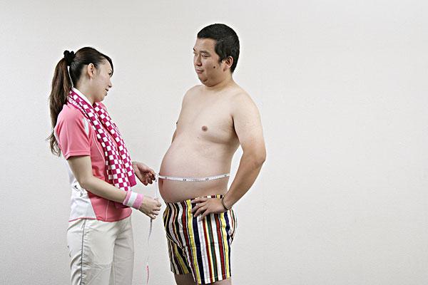 已生男宝宝的大肚照片