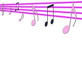 音乐,音符,插画