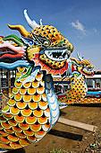 龙,头部,游船,歌曲,香水,河,靠近,色调,北越,越南,东南亚,亚洲