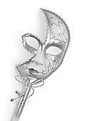 银,威尼斯,面具
