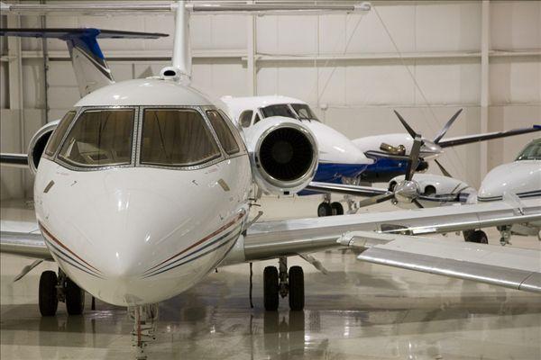 私人喷气机,飞机库,奥克兰,国际机场,沃特福德,密歇根,美国